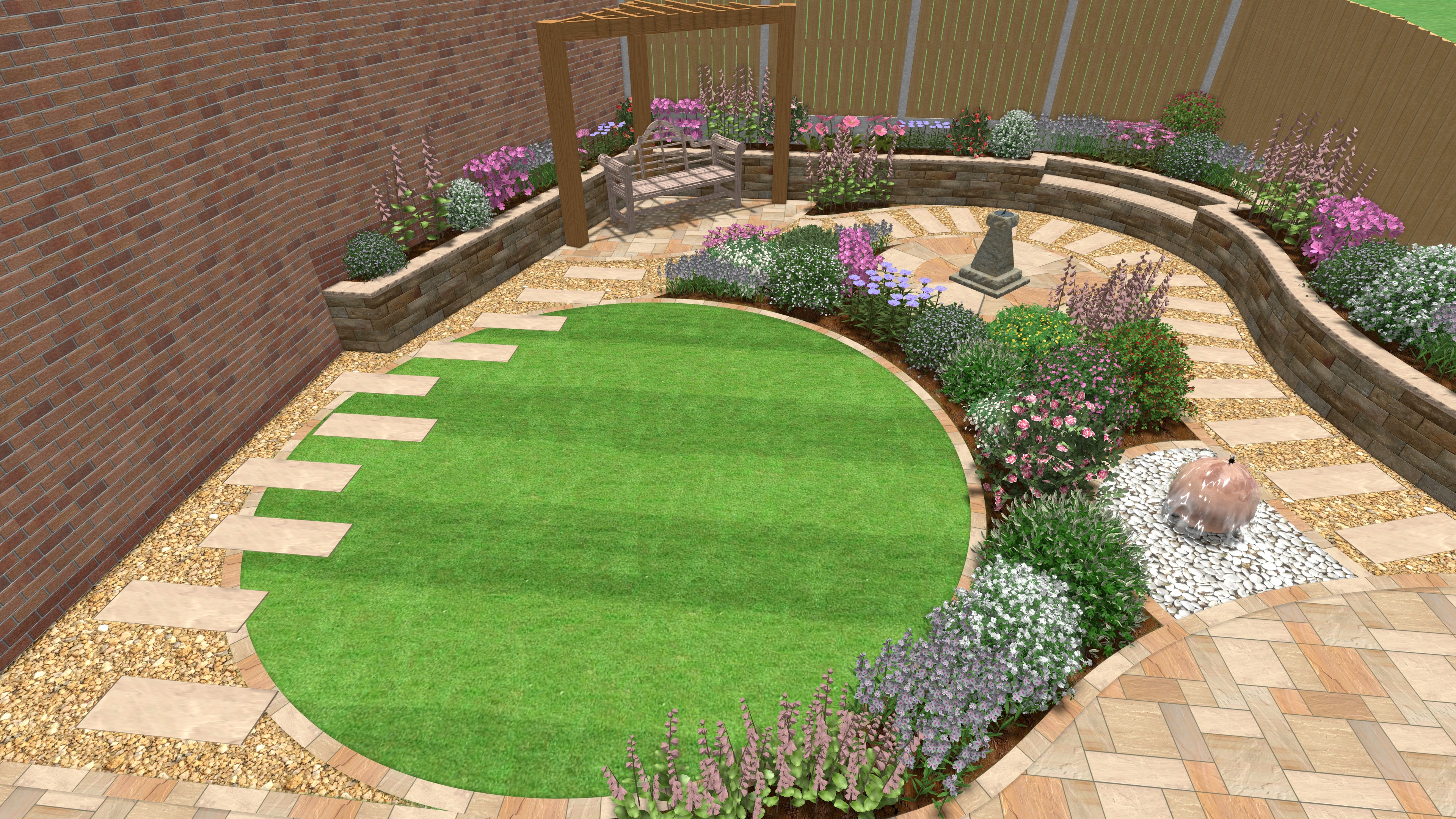 Example of Landscaping Project in Cheshire