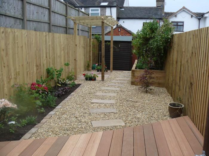Landscaping job in Lightwood, Stoke-on-Trent