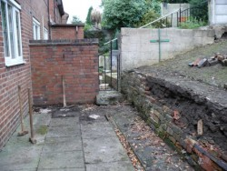 Ground preparation, Demolition, Bradbury, Stoke on Trent 1