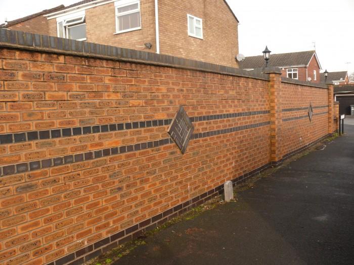 Walls - Boundary Brick Wall