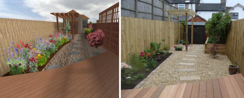 3D CAD Drawing - Landscape and Garden Design