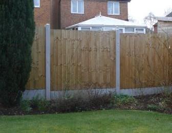 Garden Boundary Fence Stoke-on-Trent