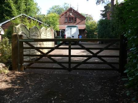 Large Picket Style Fence