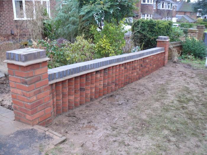 Design Of Brick Retaining Wall : Gallery jhps