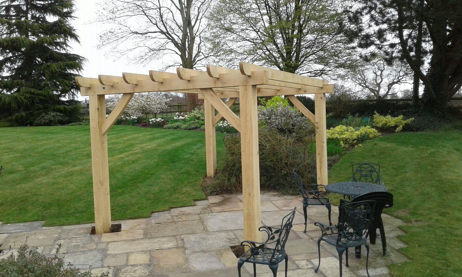 Pergola - Landscape Gardener in Cheshire