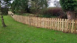 Picket Fencing in Staffordshire