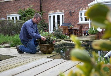 Gardeners in Crewe