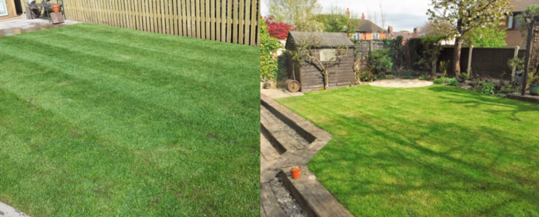 Turf Laying in Staffordshire, Cheshire and Derbyshire