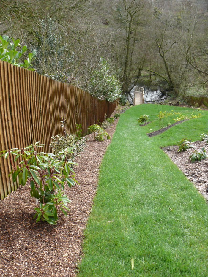 Planting up Landscaping in Staffordshire
