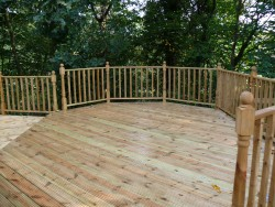 Decking in Stone