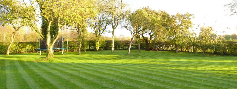 Lawn Mowing in Prestbury