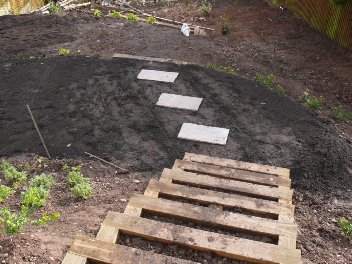 Landscaping in Staffordshire - Leveling and Steps