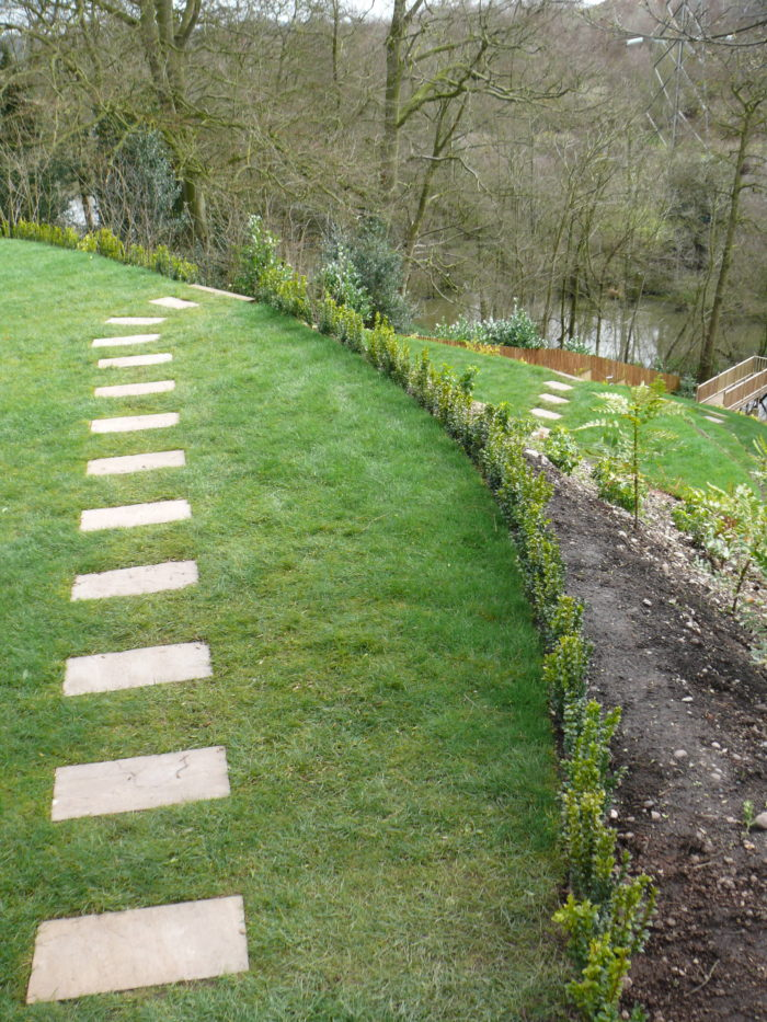Stepping Stones - Landscaping in Staffordshire