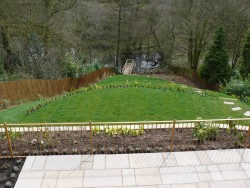Full view of Landscaping in Staffordshire