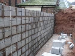 Retaining Wall - Block Work