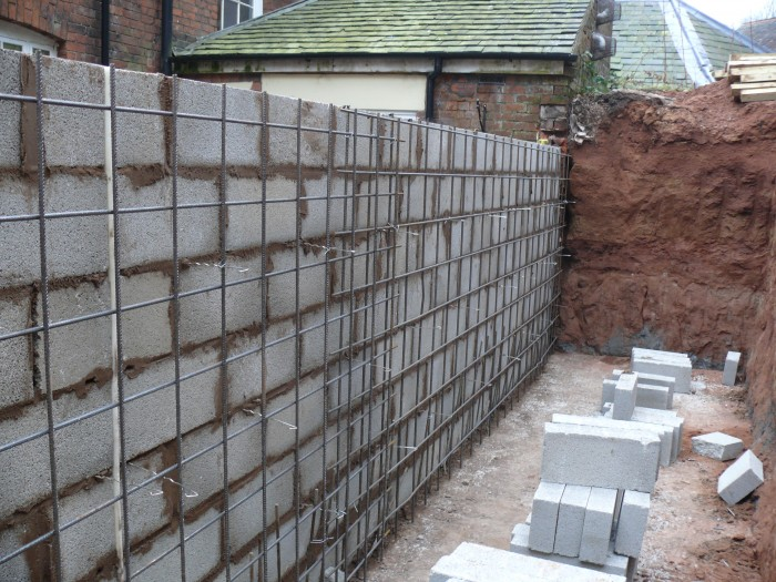 Retaining Wall - Block Work