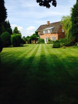 Lawn Mowing, Large Lawn, Holmes Chapel 1
