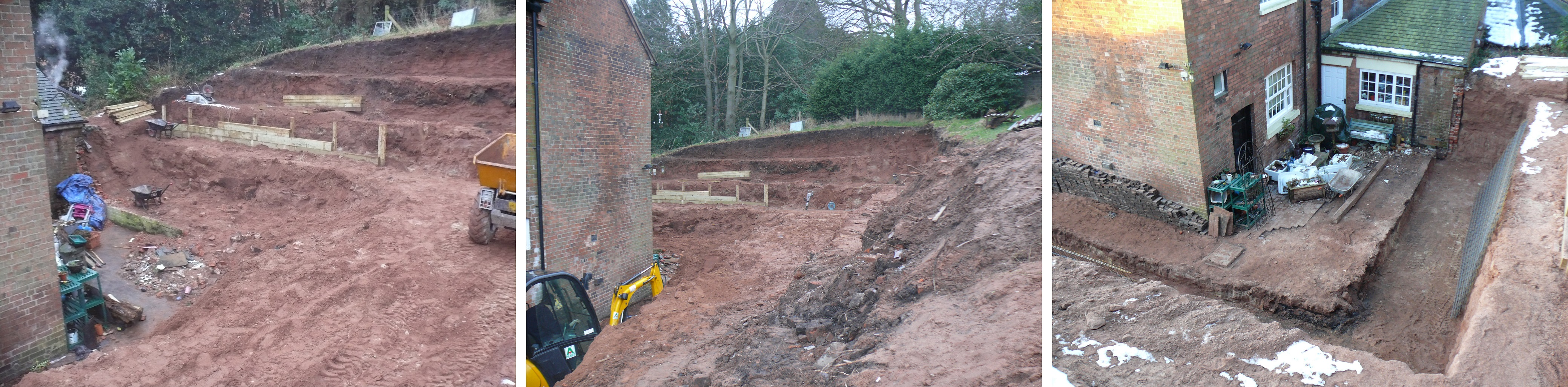 Digging out and Levelling - Landscaping in Cheadle, Staffordshire