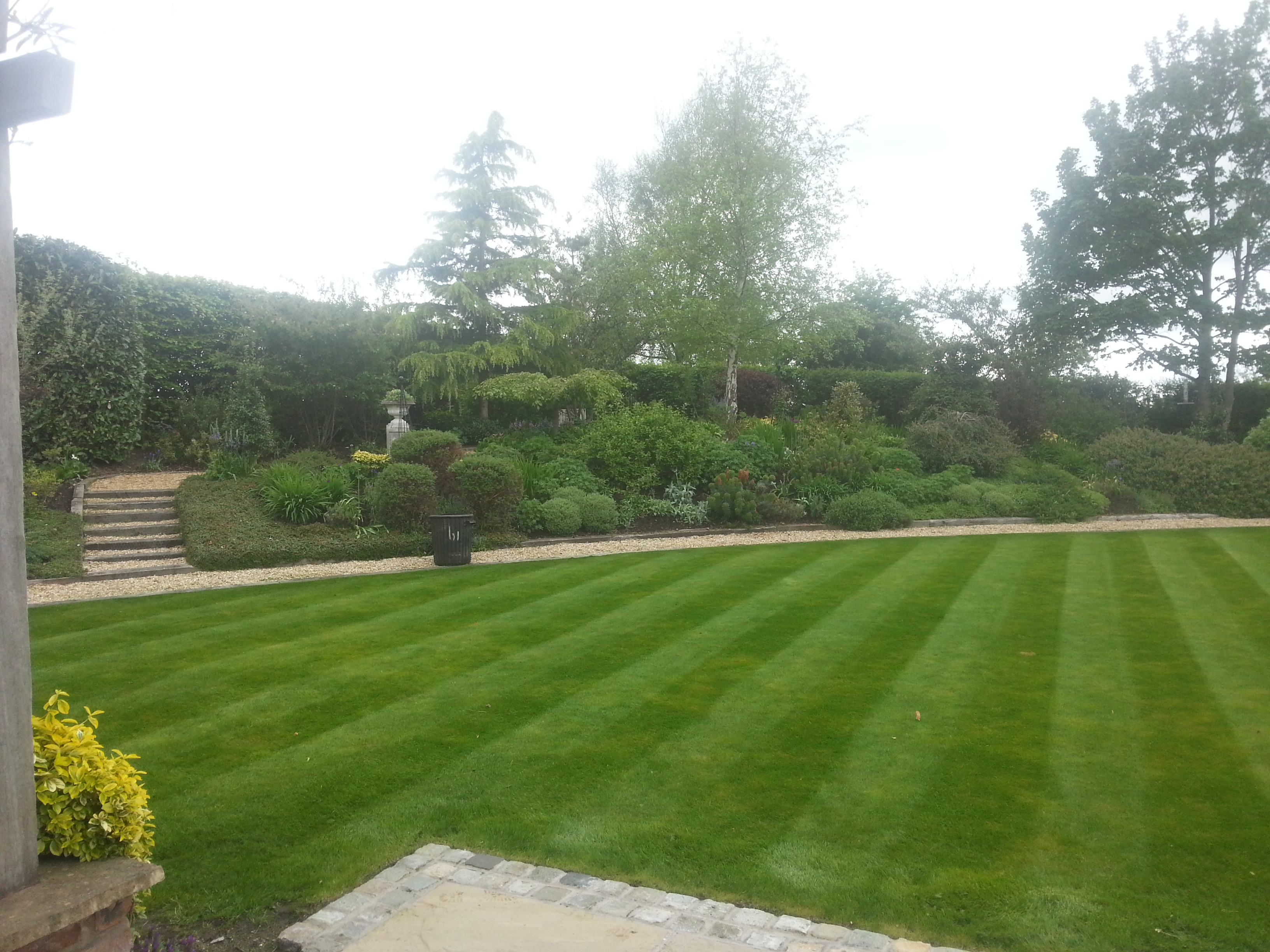Mowing, Borders, Maintenance, Bogdanski, Alderly Edge 1