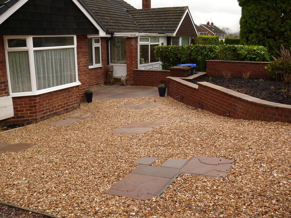 Gravel Drive - Landscaping in Longton, Stoke-on-Trent