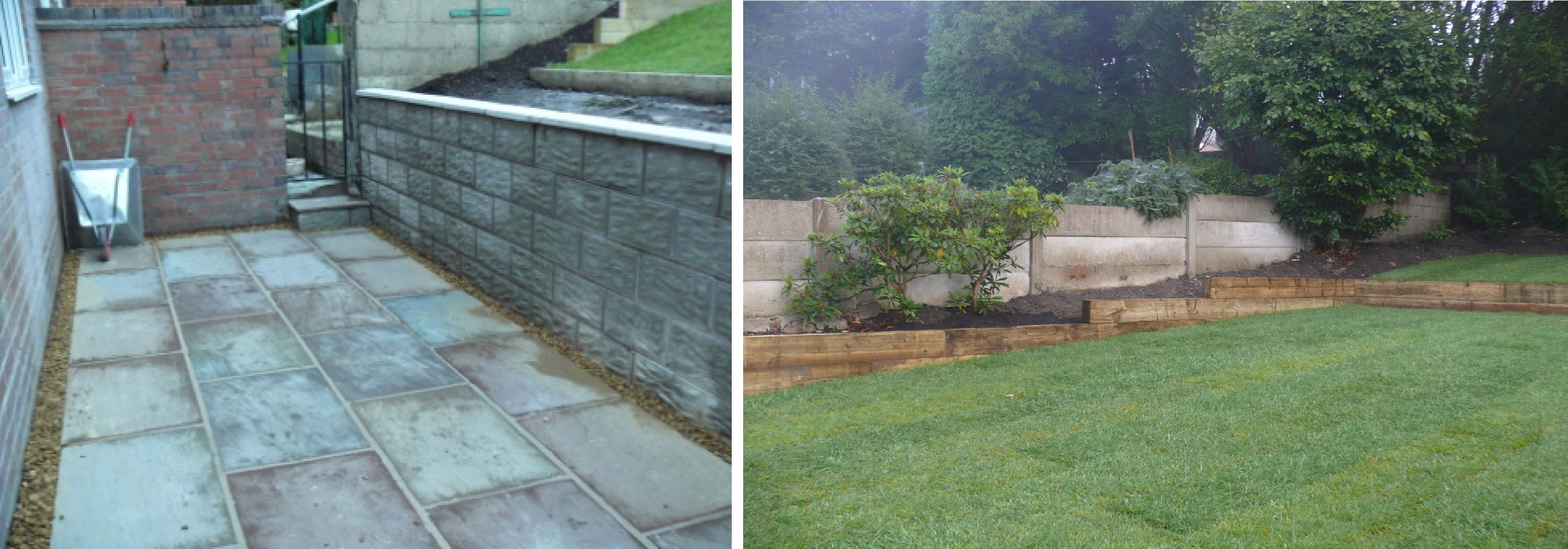 Landscaping in Longton, Staffordshire