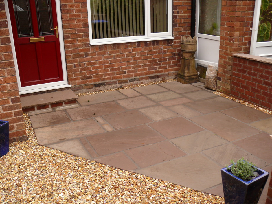 Landscaping in Longton - Indian Stone