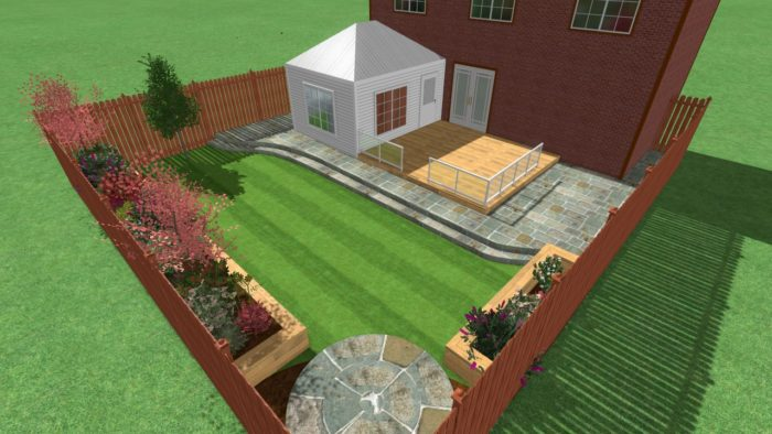 3D CAD Landscaping in Cheshire
