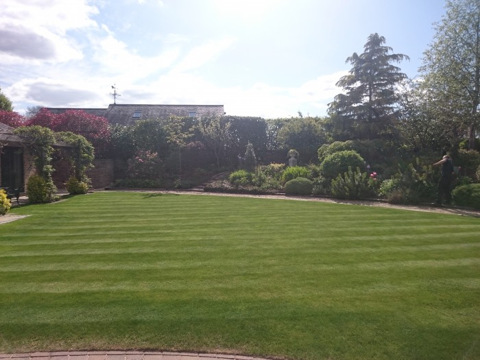 Gardener in Rudyard, Staffordshire