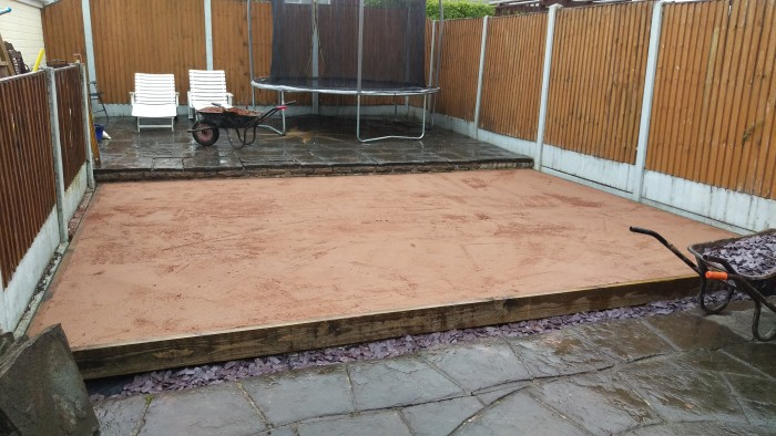 Artificial Turf, Werrington, Preparation, Janet Cummings, Werrington 1