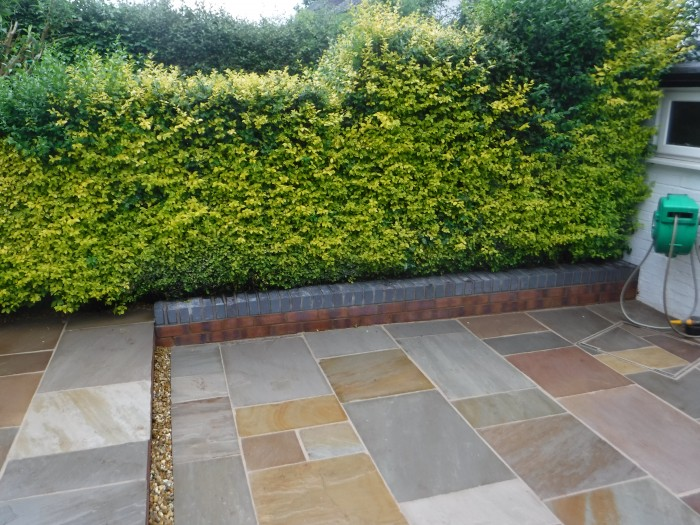 Landscaping in Keele - Indian Stone Patio