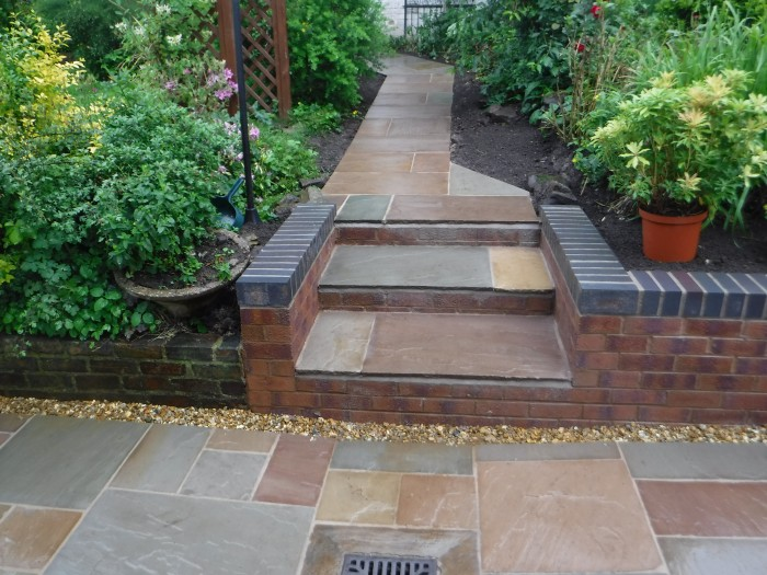 Landscaping in Keele - Steps