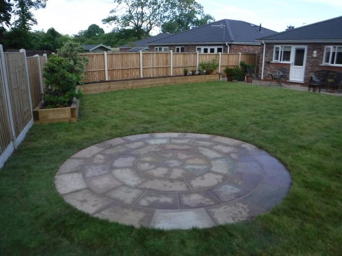 Indian Stone Circle - Landscaping in Barlaston