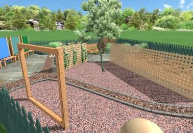 A Sensory Garden designed for a local school