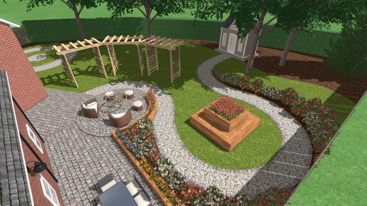 3D CAD Design - Landscape Gardener in Cheshire