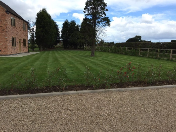 Professional Gardener in Brown Edge - Mowing