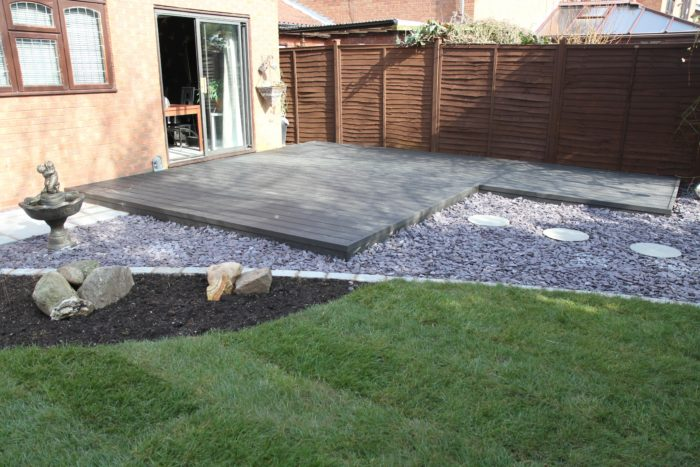 Decking - Landscaping in Newcastle under Lyme