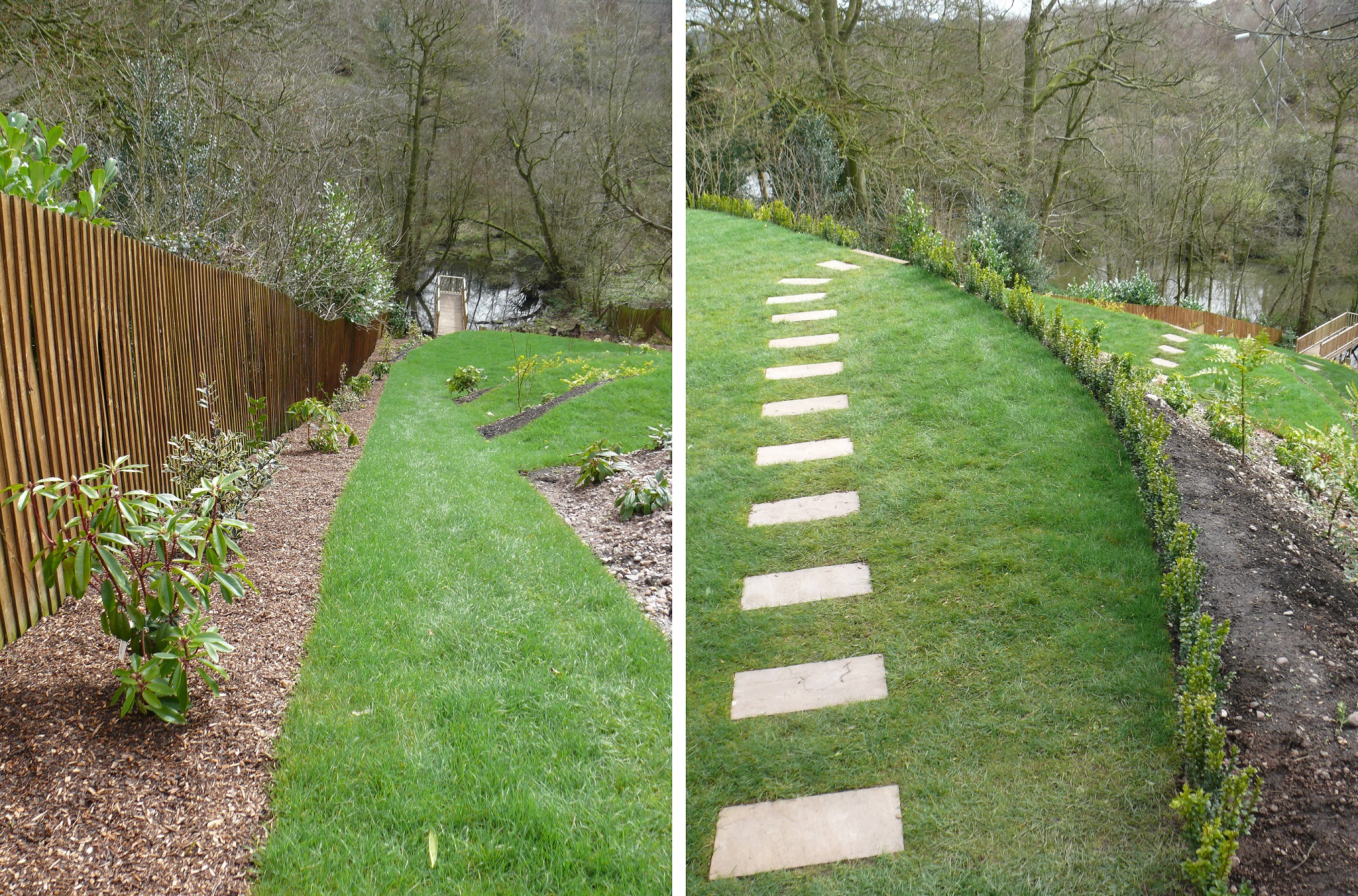 Planting and Turfing - Landscaping in Staffordshire and Cheshire