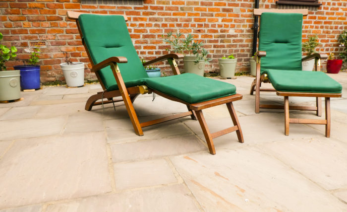 Indian Stone Patio - Landscaping in Wilmslow
