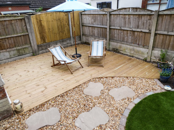 Decking - Landscaping in Alderley Edge
