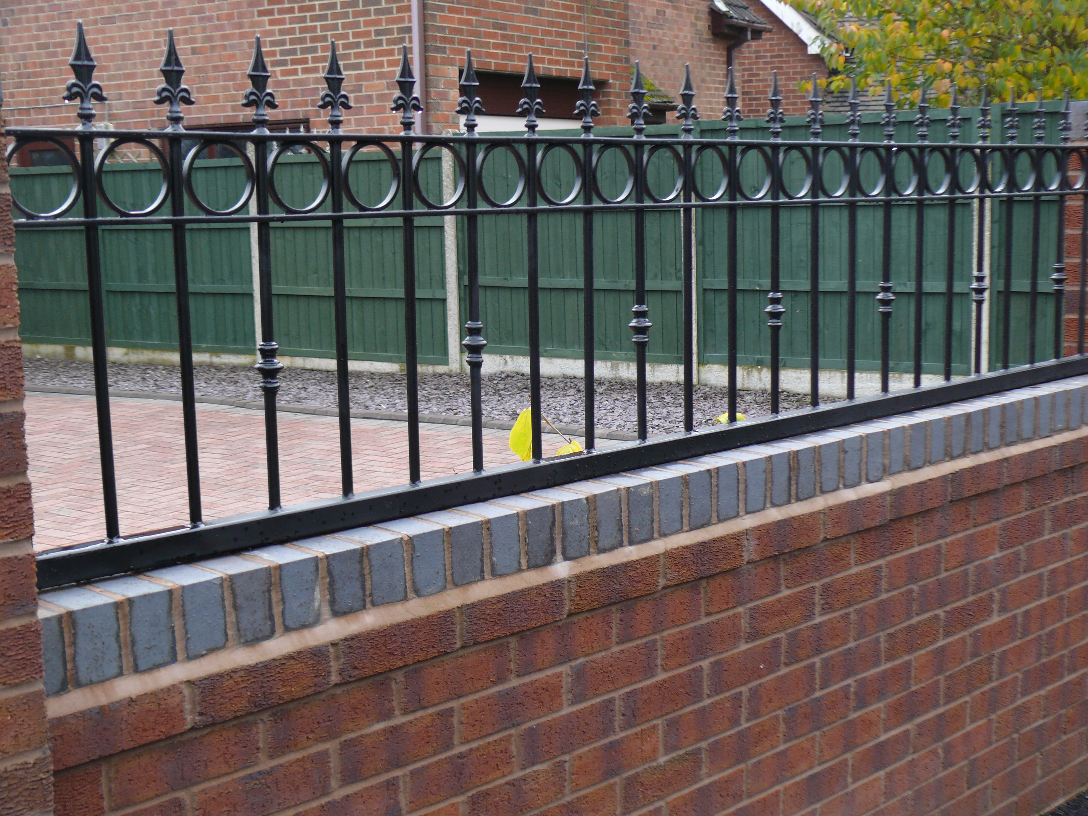Landscaping in Blythe Bridge - Brick Wall