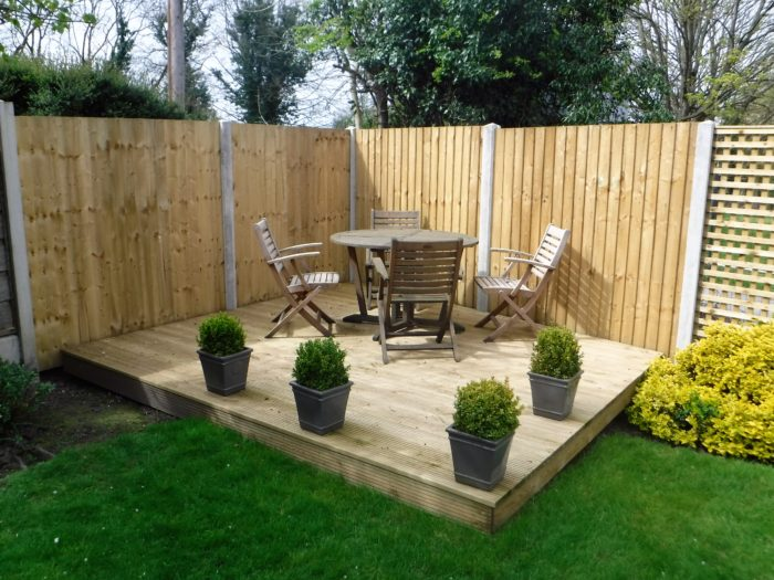 Decking - Landscaping in Cheshire