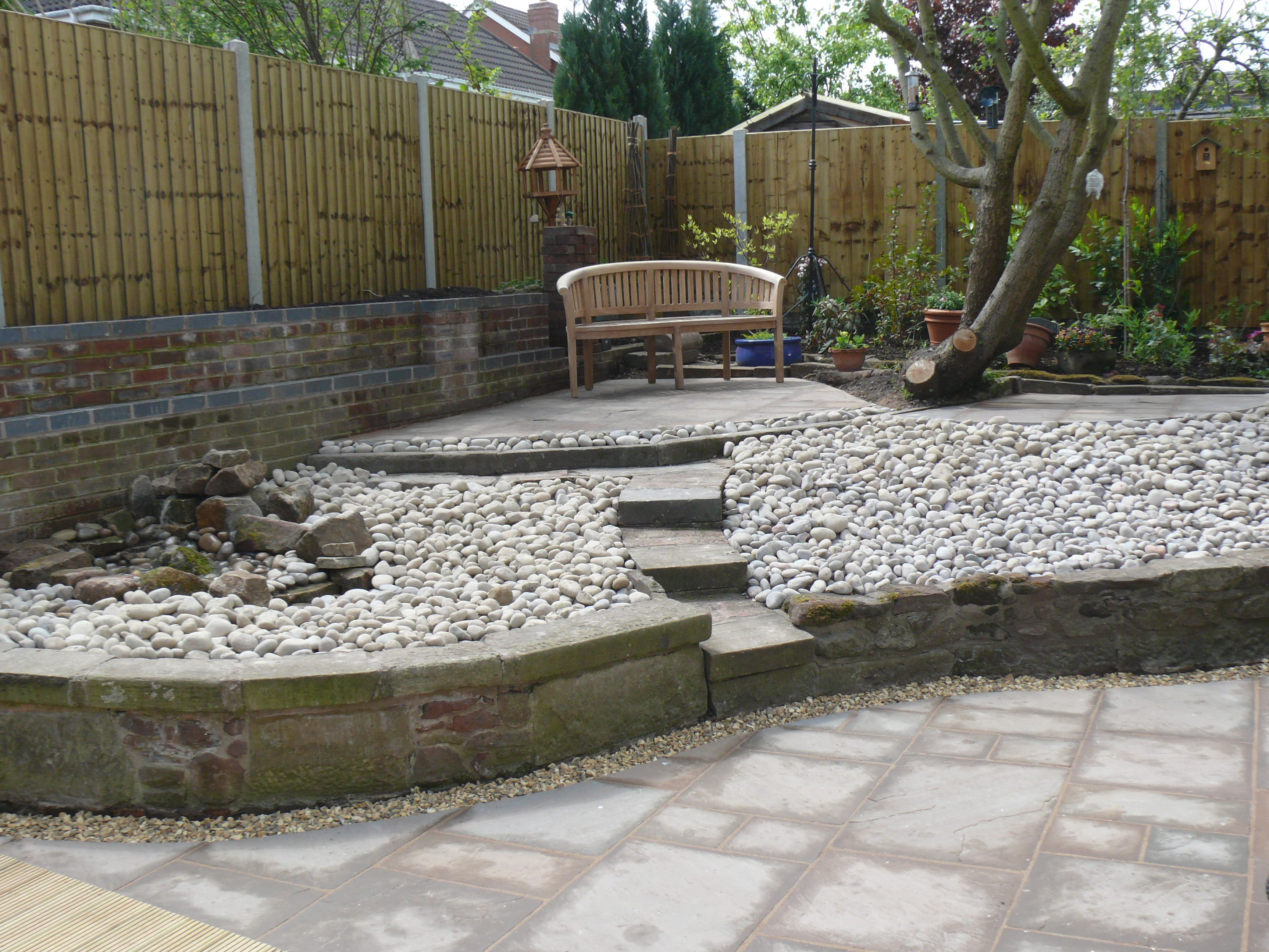 Seating Area - Landscaping in Staffordshire