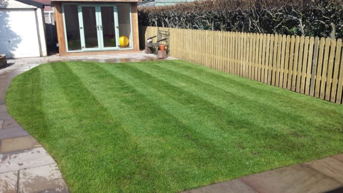 Turf Laying and Fencing - Landscaping in Mottram St Andrew