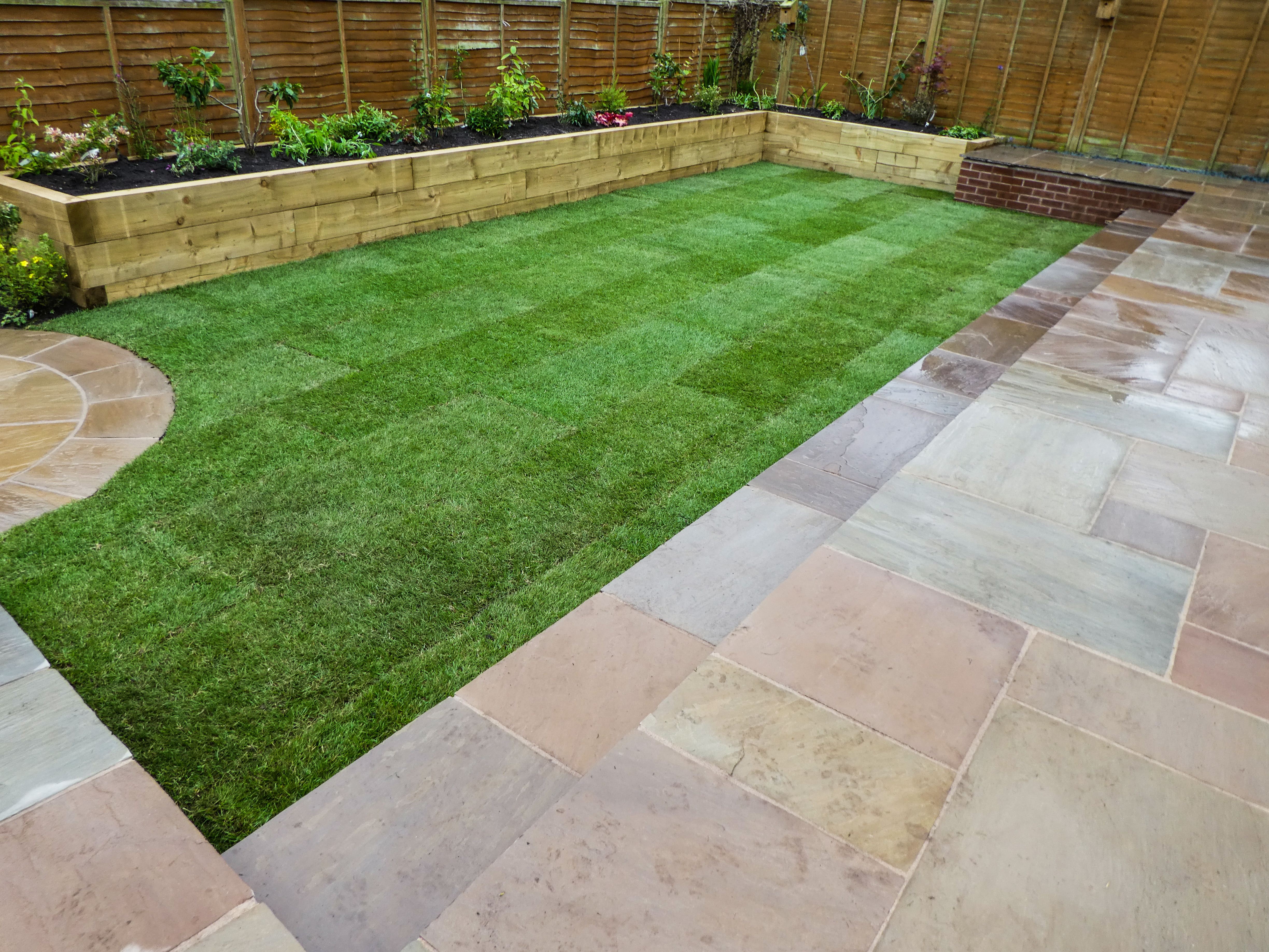 Landscaping in Westlands, Newcastle under Lyme
