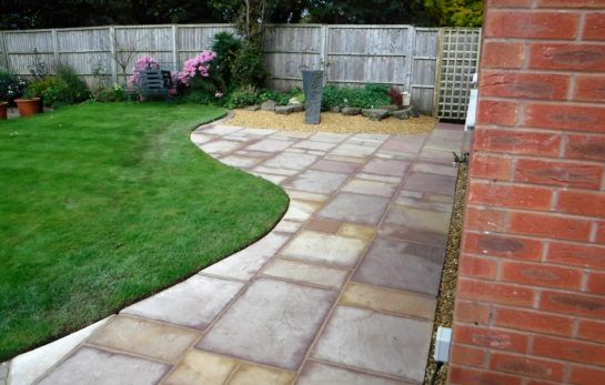 Landscaping in Macclesfield - Patio