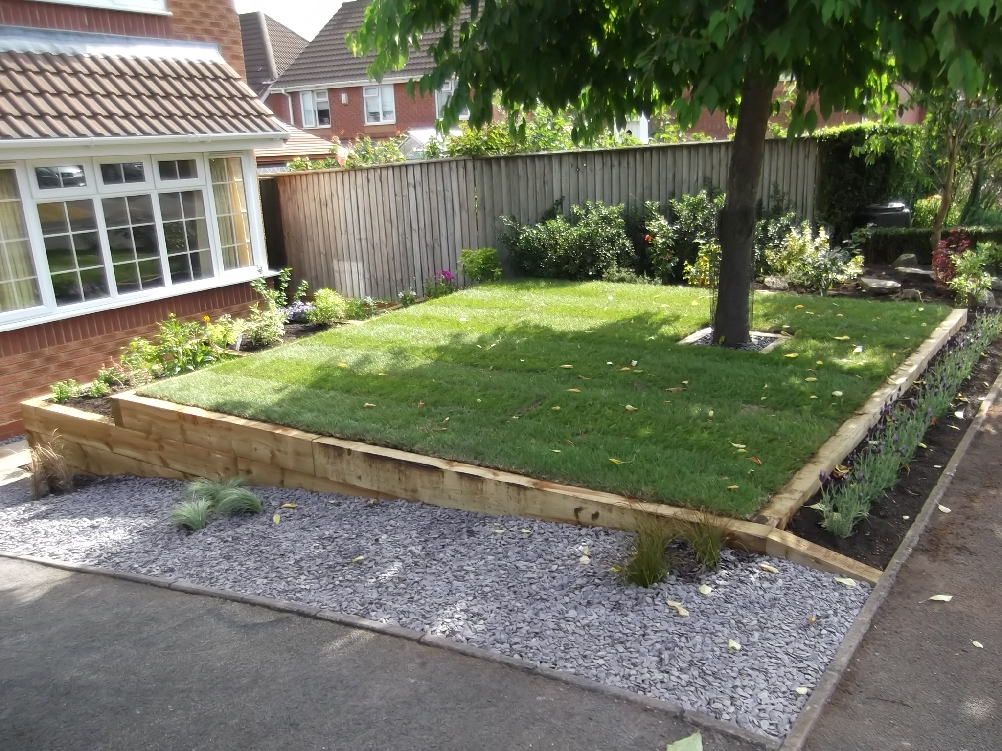 Front Garden - Landscaping in Stafford