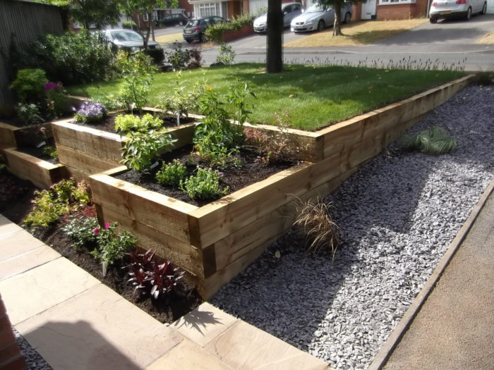 Sleeper Bed - Landscaping in Staffordshire