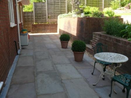 Patio and Terraces - Landscape Gardener in Alderley Edge