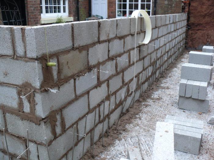 Retaining Wall - Concrete Block