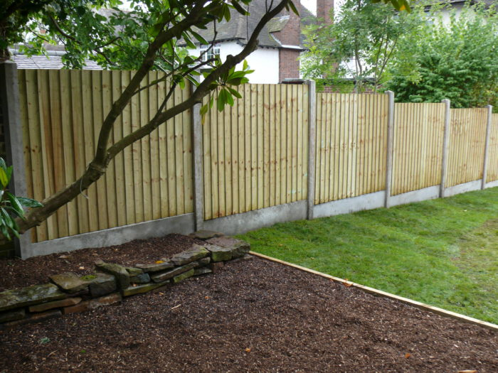 Landscaping in Staffordshire and Cheshire - Fencing
